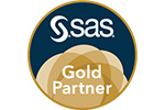 SAS Gold Partner Badge