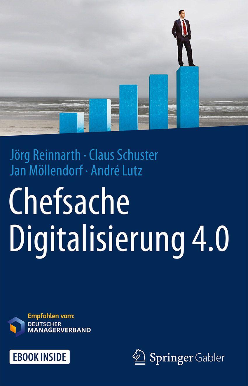 Buchtitel: Chefsache Digitalisierung 4.0
