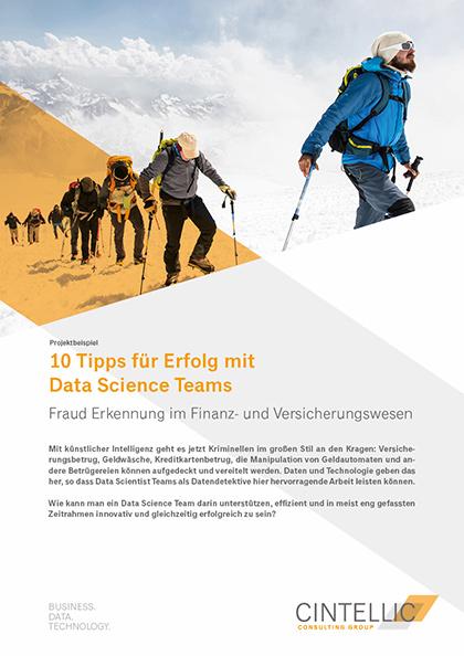 10 Tipps für Erfolg mit Data Science Teams - CINTELLIC Consulting