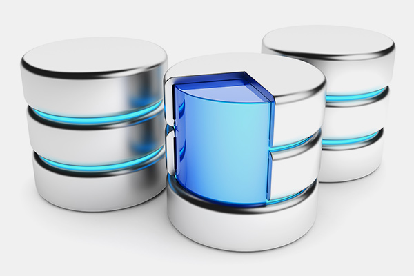 Symbolhafte Darstellung eines Data Warehouse bzw. DataMarts