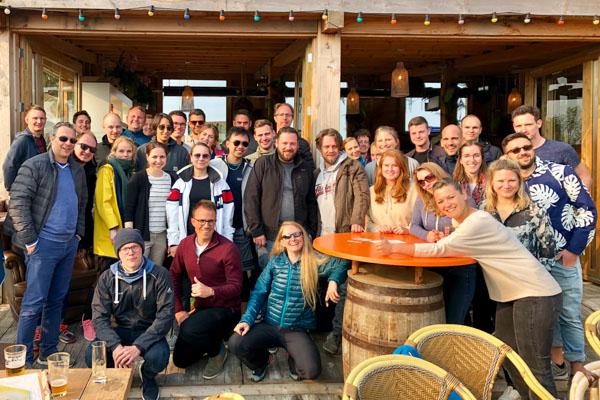 Gruppenfoto CINTELLIC mit einigen Mitarbeitern