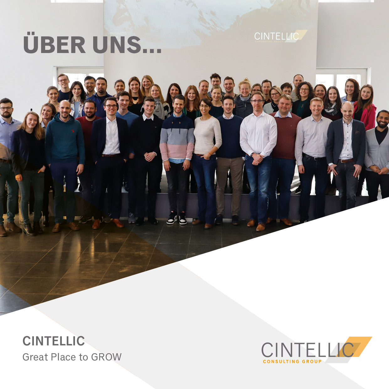 CINTELLIC Karriere Ueber uns Booklet Visual