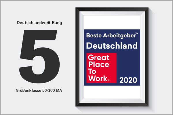 Great Place to Work - Beste Arbeitgeber 2020